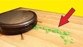 видео Роботы пылесосы