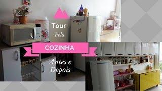 TOUR ANTES E DEPOIS DA MINHA COZINHA | Carla Oliveira