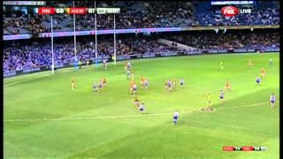 Round 22 AFL - North Melbourne v Hawthorn Highlights