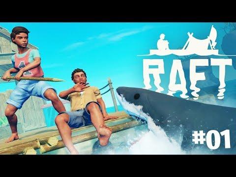 O RETORNO no NÁUFRAGO COM TUBARÃO!!! - Raft