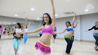 Fleur Estelle Belly Dance to Greek Pop (Malu) with Fleur