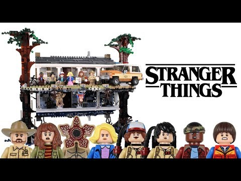 lego-stranger-things-upside-down-unboxed,-built-&-reviewed!