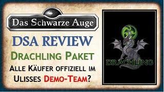 DSA Drachling Paket Review - Geld bezahlen, um für Ulisses Werbung zu machen?