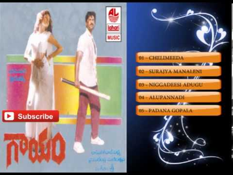 Telugu Hit Songs | Gaayam Movie Songs | Jukebox