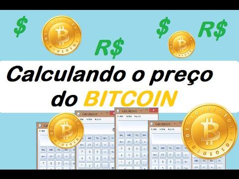 Como Calcular O Preço Do Bitcoin Tv Mista