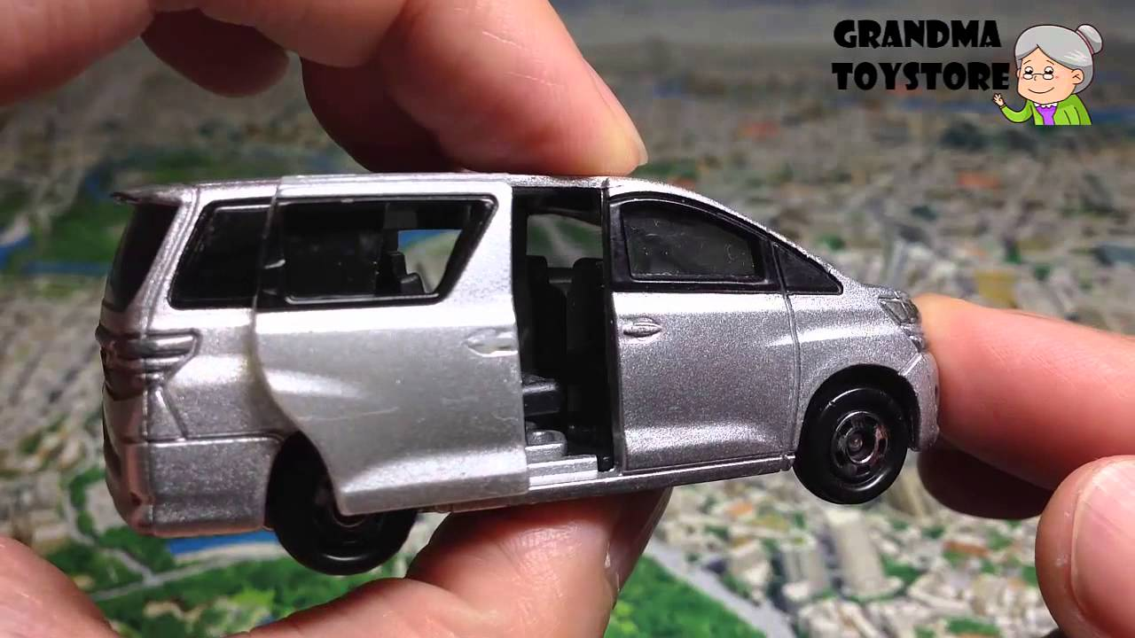 Unboxing TOYS Review/Demos - TomicaToyota Vellfire silver big sized mini van with 2 doors sccoer mom - YouTube & Unboxing TOYS Review/Demos - TomicaToyota Vellfire silver big sized ...