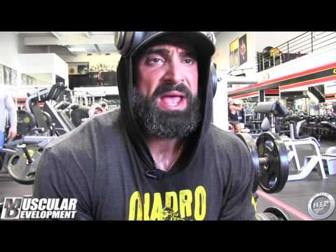 2016 - IN THE TRENCHES - GUY CISTERNINO - LEG WORKOUT - MR. OLYMPIA