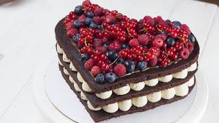 САМЫЙ ШОКОЛАДНЫЙ ТОРТ. Рецепт шоколадного торта с шоколадным кремом. Рецепт торта от Pauline Cake