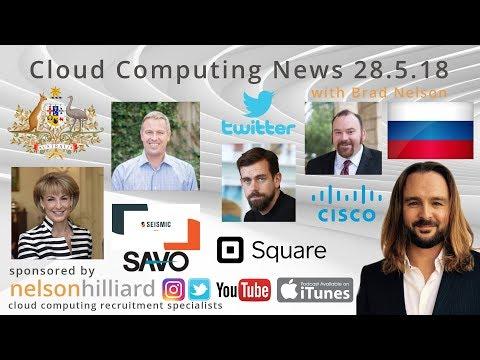 W/C 28.5.18 News Cloud Computing Nelson Hilliard