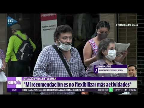 """Luis Median Ruiz: """"no podemos flexibilizar más"""""""