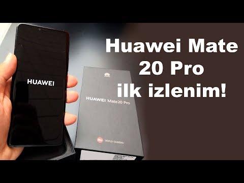 Huawei Mate 20 Pro ilk izlenim    Canavar gibi olmuş!