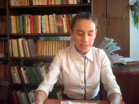 Изображение предпросмотра прочтения – УлитаАгафонова читает произведение «Учитесь жизнь свою благодарить» И.А.Самариной