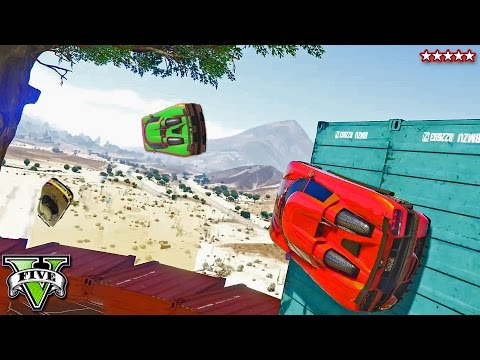 GTA 5   Five Star Getaway Races w/The Crew - RUN FOR YOUR LIFE!!! (GTA 5 Funny Moments) PS4 Gameplay