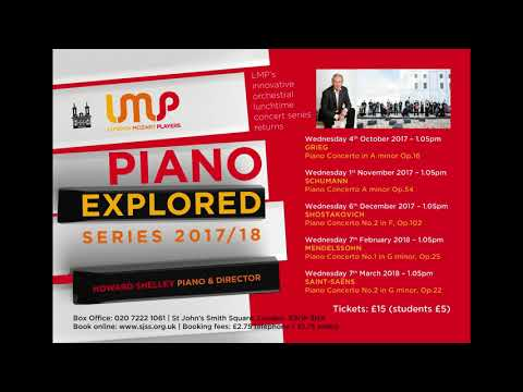LMP's Piano Explored with Howard Shelley