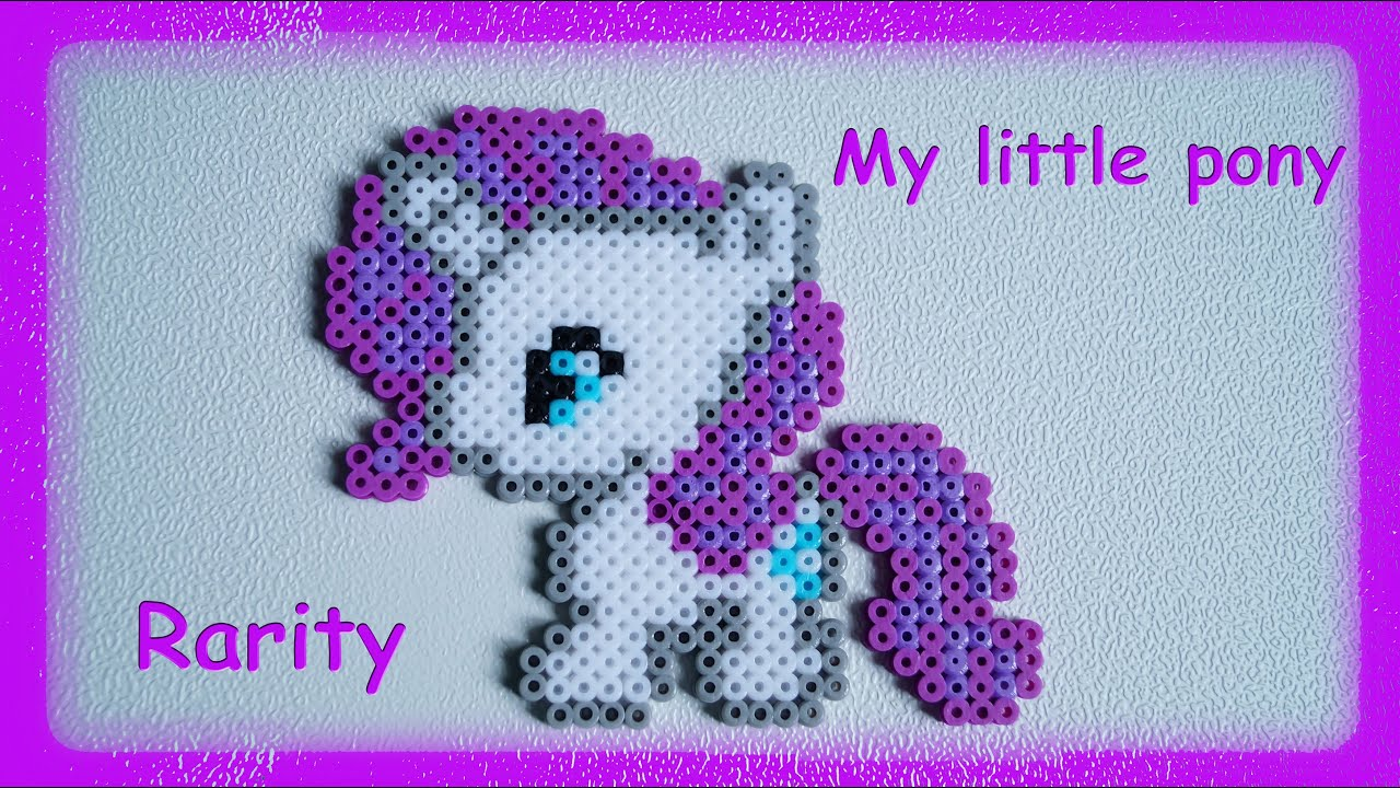 Tutorial Hama Beads Pyssla Perler Beads How To Make My Little Pony