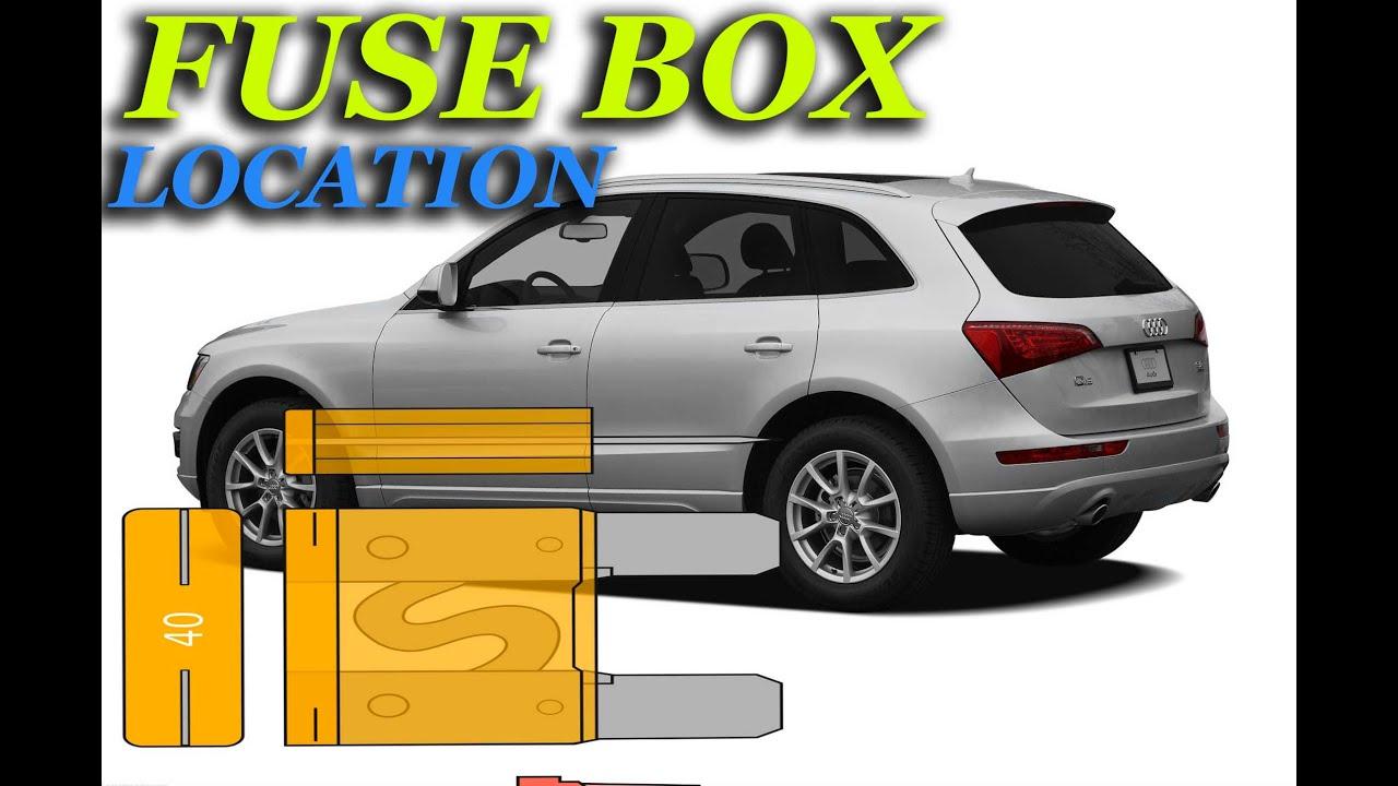 2011 audi q5 fuse box fuse box location on a 2005 2016 audi q5 youtube  fuse box location on a 2005 2016 audi