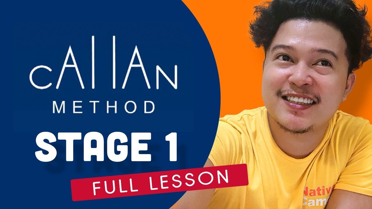 Download NATIVECAMP Callan Method Stage 1 Demonstration 25 minutes lesson | NATIVE CAMP