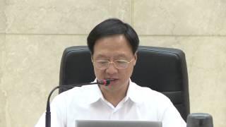 行政院長江宜樺聽取農委會「飼料管理法」部分條文修正草案報告後談話
