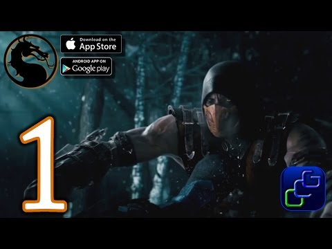 Mortal Kombat X Android iOS Walkthrough - Gameplay Part 1 - Battle Mode (NO IAP)