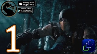 Mortal Kombat X Android iOS Walkthrough - Gameplay Part 1 - Battle Mode (NO IAP)