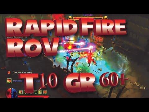 Diablo RoS | 2.4 Rapid Fire Demon Hunter Build | Solo & Team
