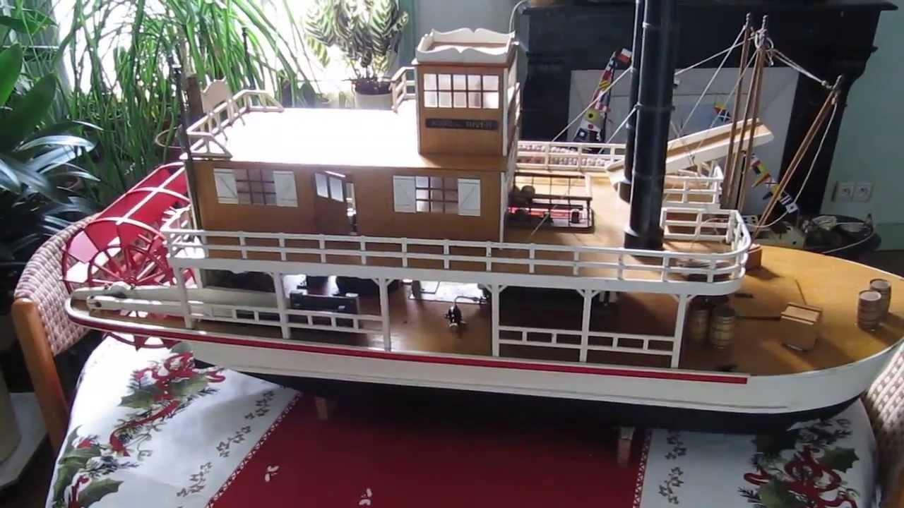 Bateau vapeur / paddle boat / Dampfboot : Premières images ...