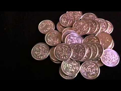Coinpicker's Lucky Bank Coin Haul