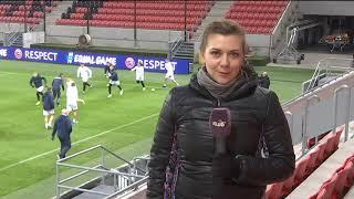 Ліга націй, Словаччина - Україна, репортаж