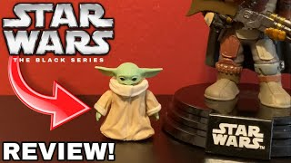 "The Mandalorian The Child ""Baby Yoda"" Black Series Action Figure Review‼️"
