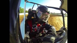 Billy Pauch Jr. 600 Micro Hot Laps at Action Track USA 8/14/13