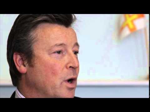 Dominic Wheatley, CEO, Guernsey Finance