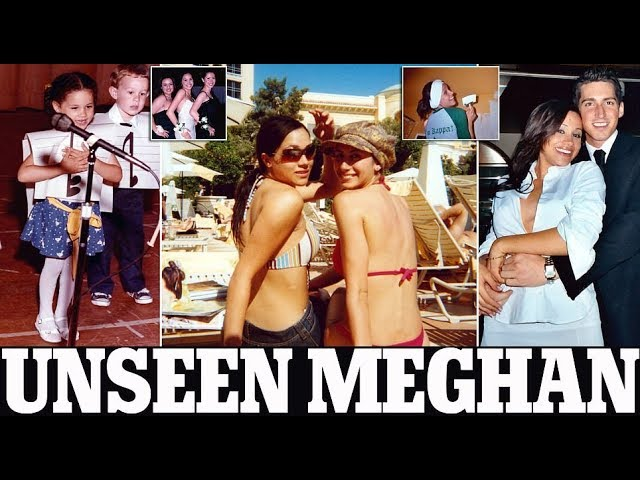 Невидени фотографии од животот на Меган Маркл