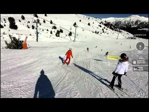 vita skiing from pas to soldeu