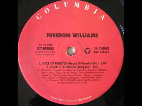 Freedom Williams - Voice Of Freedom (Jazzy Mix)