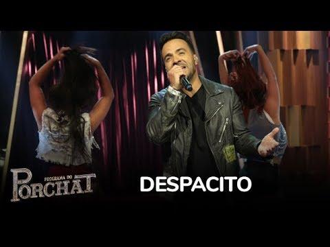 Luis Fonsi Canta Despacito E Echame La Culpa No Palco Do Programa Do Porchat