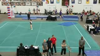 Lauryn Morris level 10 2017/2018 Northeast Gymnastics