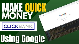 Fastest Way To Make Money On Clickbank And Affiliate Marketing (Free Tutorial)