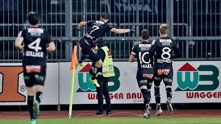 Highlights: Wolfsberger AC vs. Lask Linz/ 1-1