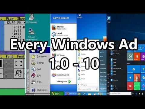 Every Windows Ad 1.0 - 10