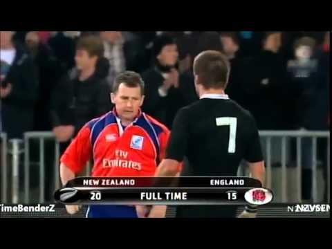 Nigel Owens and Richie McCaw really like eachother.