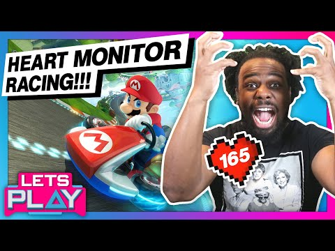 Watch Austin Creed's RAGE grow in real-time: Mario Kart 8 with a Heart Monitor!  
