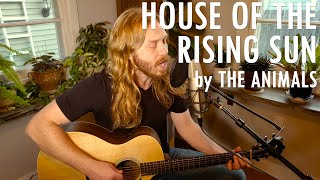 """""""House of the Rising Sun"""" by The Animals - Adam Pearce (Acoustic Cover)"""