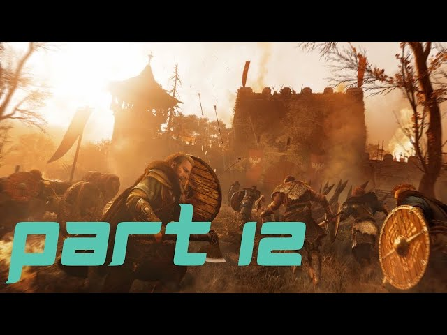 Assassin's creed Valhalla Gameplay part 12 - The stench of treachery