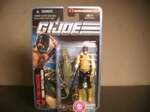 G.I. Joe the pursuit of Cobra Croc Master figure review