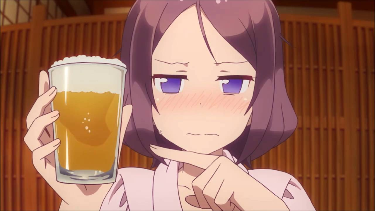 аниме пиво
