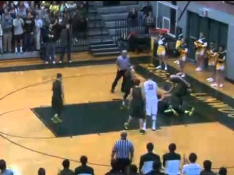Nick Fisher Basketball Highlights Junior Year - YouTube