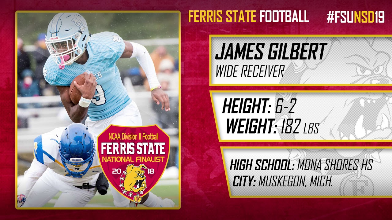 Watch Ferris State Football 2019 National Signing Day Ferris State Bulldogs