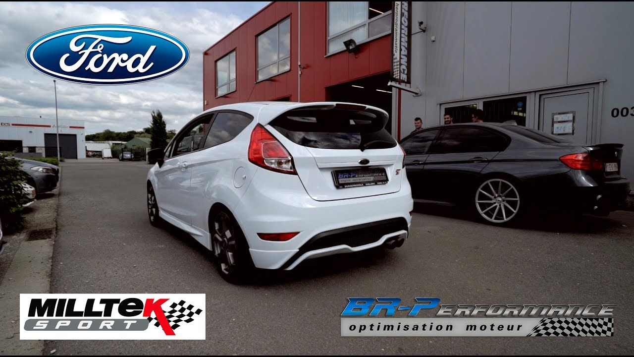 ford fiesta mk7 st 1 6t stage 2 by br performance youtube. Black Bedroom Furniture Sets. Home Design Ideas