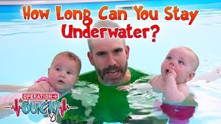 How Long Can You Stay Underwater? | Operation Ouch | Science for Kids