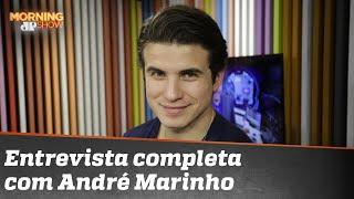Assista à íntegra da entrevista com André Marinho